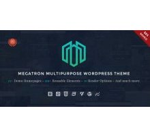 Megatron 1.2 адаптивный шаблон wordpress