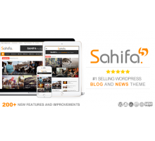 Sahifa 5.5.2 адаптивный шаблон wordpress