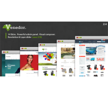Venedor 2.4.1 адаптивный шаблон wordpress
