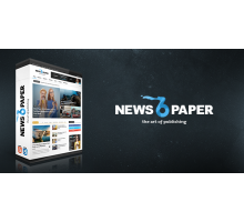 Newspaper 6.6.5 адаптивный шаблон wordpress