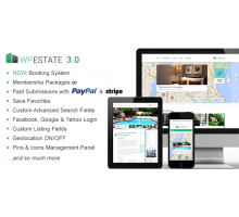 WP Estate 3.04 адаптивный шаблон wordpress