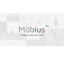 Mobius 2.6.0 адаптивный шаблон wordpress