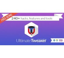 Ultimate Tweaker 1.4.2 tweaks wordpress