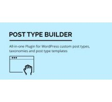 Post Type Builder 1.1.9 плагин wordpress