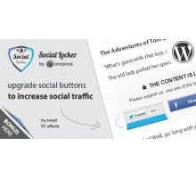 Social Locker 4.3.5 плагин социальный замок wordpress