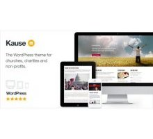 Kause 1.41 адаптивный шаблон wordpress