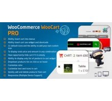 WooCommerce Cart WooCart Pro 2.2.0 плагин wordpress