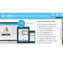 AppMojo 2.6 адаптивный шаблон wordpress