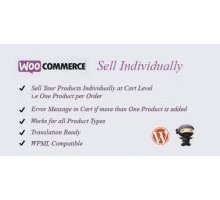 WooCommerce Sell Individually 1.5 плагин продаж wordpress