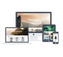 Pinnacle 1.7.0 адаптивный шаблон wordpress