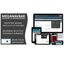 MegaNavbar 2.2.0 плагин wordpress