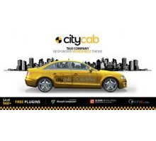 CityCab 2.0.3 адаптивный шаблон wordpress