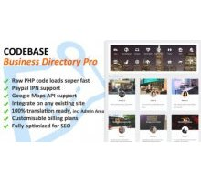 Codebase Business Directory Pro 1.02 скрипт бизнес каталога