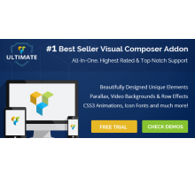 Ultimate Addons for Visual Composer 3.16.6 плагин wordpress