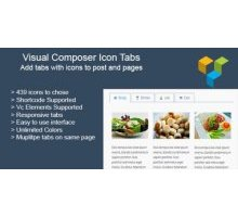 Visual Composer Icon Tabs 1.2.6 плагин wordpress