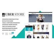 UberStore 3.2.1 адаптивный шаблон wordpress