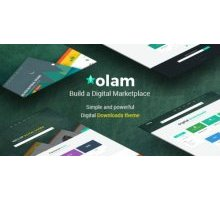 Olam 2.1 адаптивный шаблон wordpress