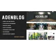 Aden 2.2 адаптивный шаблон wordpress