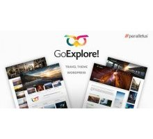 GoExplore 1.3.6 адаптивный шаблон wordpress