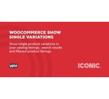 WooCommerce Show Single Variations 1.1.0 плагин wordpress