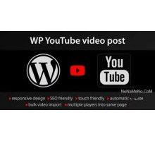 YouTube WordPress plugin 1.2.3 видео с YouTube