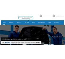 Mechanic 1.0 автомобильный шаблон wordpress