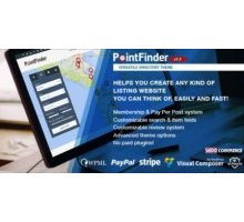 Point Finder адаптивный шаблон тема wordpress