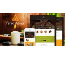 Terra Atma адаптивный шаблон тема wordpress
