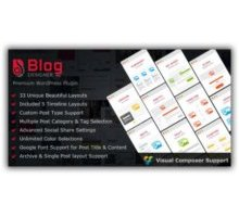 Blog Designer PRO for wordpress плагин для блог