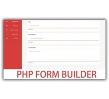PHP Advanced Form Builder скрипт форм