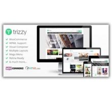 Trizzy адаптивный шаблон Woocommerce wordpress