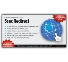 5sec Redirect плагин редиректа wordpress