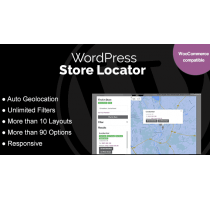 WordPress Store Locator плагин