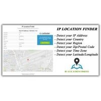 IP Location Finder Script скрипт геолокации