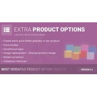 WooCommerce Extra Product Options плагин wordpress