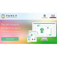 Fancy Product Designer плагин WooCommerce wordpress