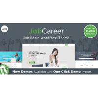 JobCareer адаптивный шаблон тема wordpress