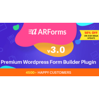 ARForms плагин конструктор форм wordpress