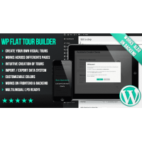 WP Flat Tour Builder плагин wordpress