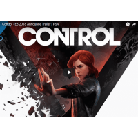 Remedy Entertainment анонс видео боевик Control E3 2018