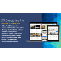 Directories Pro плагин каталога wordpress