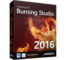 Ashampoo Burning Studio 2016 16.0.2.3 rus запись CD, DVD, Blu-ray