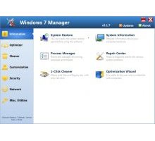 Windows 7 Manager 5.1.7 Final оптимизация windows