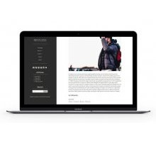 Frank WordPress Portfolio Theme шаблон