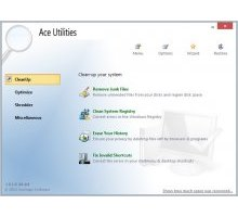 Ace Utilities 6.1.0 Build 284 Final оптимизация системы